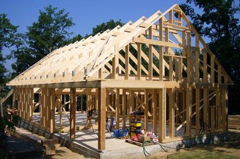 construction maison ossature-bois